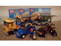Lego 60060: Super Pack 3 in 1, Car Transporter, Race Car, Monster Truck.