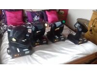 FOUR I 5s MOVING HEADS