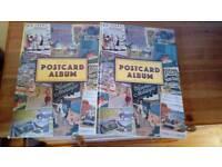 Two postcard albums