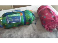 Two Childs Sleeping bags