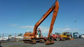 1998 Daewoo Solar S220 LCIII Extended Jib Excavator for Auction