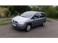 2005 Vauxhall Zafira 1.6 i 16v Life with full service history