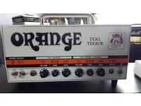 "Orange DT30 class ""A"" all-valve 2 channel amp, £325;"