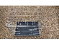 Pets at Home Double Door Dog Training Crate