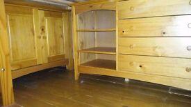 Childrens unisex cabin bed