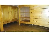 Childrens unisex cabin bed