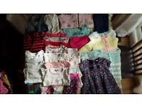 Baby girl clothes bundle - 1 to 2 year old (used but in very good condition)