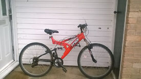 mens 18 speed mountain bike,ladies 18 speed mountain bike for sale spares repairs