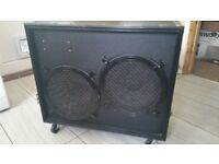 "Guitar speaker cab in flight case 2x12"" Celestion"