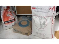 Plasterboard Adhesive, Cement and MultiFinish Plaster