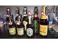 German Beer Bottles
