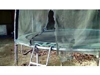 14FT TRAMPOLINE WITH SAFETY ENCLOSE