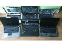 Laptops for sell x6 Spare or repair