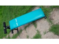 Folding situp bench