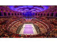 2x tickets ATP CHAMPIONS TENNIS Royal Albert Hall - Sat 3 Dec afternoon