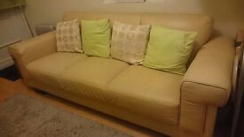 Leather Sofa (excellent condition)