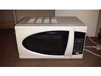 Microwave, kettle, sandwich maker