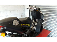 ITALJET DRAGSTER 50 CC NEEDS TLC VERY RARE MOPED.ALSO SAME TYPE FOR SPARES.