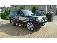 LAND ROVER. RANGE ROVER SPORT 4.2 V8 SUPERCHARGED. 22 INCH ALLOYS. VGC. 4x4, 4wd, jeep
