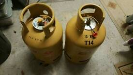 2 X 13KG GAS BOTTLES (EMPTY )