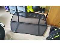 bmw e46 msport cab wind deflector and carry case