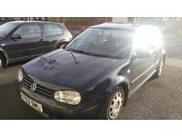 Golf 1.4 petrol sunroof