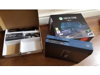 XBOX ONE 1 TB HARD DRIVE, CONSOLE WITH controller, power cable, etc all boxed