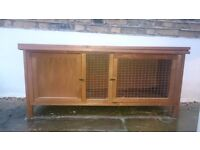 Guinea Pig / Rabbit Hutch With Rain Cover For Sale