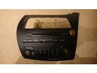 Honda Civic Type R Cd Radio Player Car Stereo 2006-2012