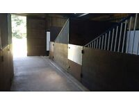 2 Assisted DIY stables