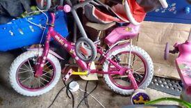 girl bike 3-5years
