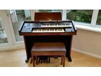 Yamaha Organ and Stool