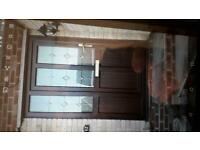 Front door with panel also back door and side windows