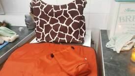 Changing bag and accessories