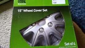 15'' Wheel cover set