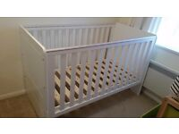 Babystart cot bed /toddler bed with mattress