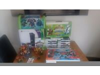 XBOX 360 bundle with skylanders