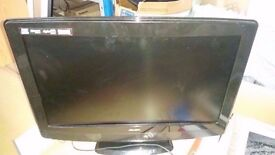 "Faulty bush btvd91216b 22 ""lcd tv built in dvd player"