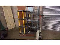 garage shelving and trestles