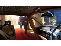 New ROLLS ROYCE SERIES 2 with STARLIGHT HEADLINER - Wedding Car Hire - Prom Car Hire - Car Hire