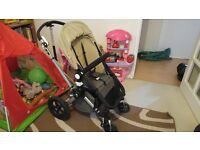 Bugaboo Cameleon 2 pushchair travel system with extras