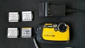 Fujifilm finepix xp200 WIFI underwater waterproof camera