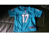 Kids Miami Dolphins Shirt (age 2 years)
