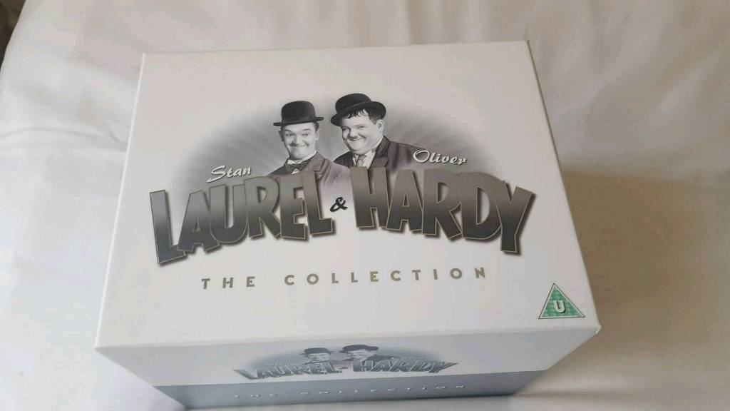 Laurel and Hardy The Collection. 21 disc DVD Box Set | in ...