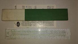 Faber Castell 57/89 slide rule