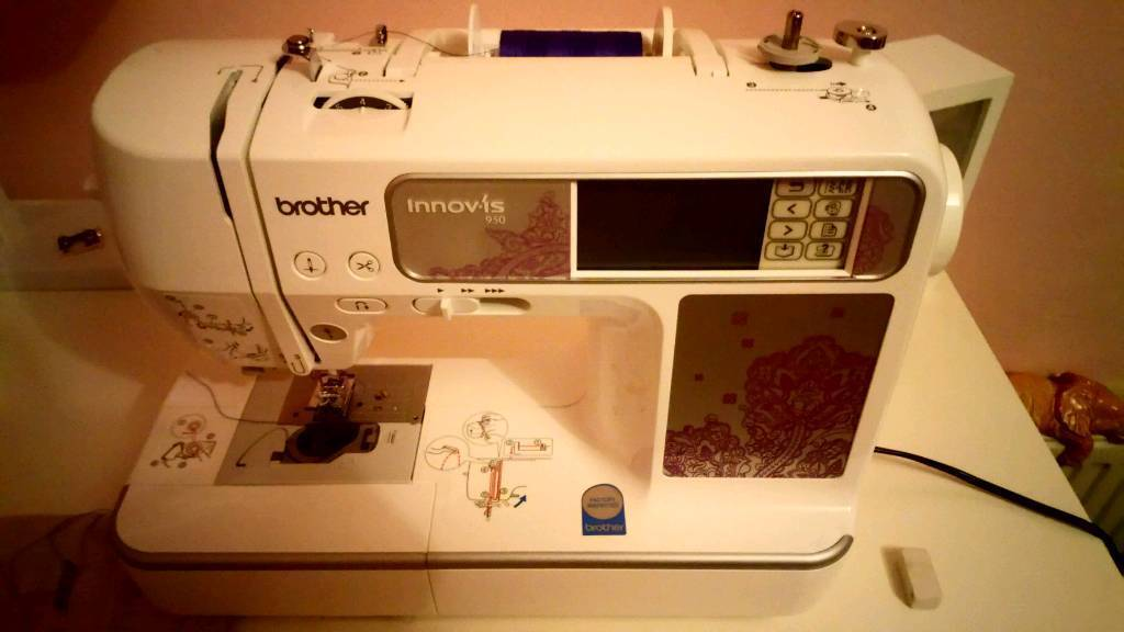 Brother Innovis Nv 40 Sewing Embroidery Machine Used Twice M In Extraordinary Sewing Machines Plymouth