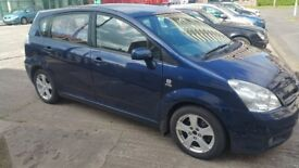 Toyota Verso 7 Seater 2005 , 2.0 D-4D T3 5dr Mot Oct 2018 , ( Not C max smax Picasso Zafira)