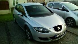 Seat Leon Only 87000 miles.New MOT ,Full service .H.