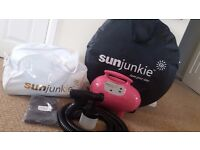 Professional SunJunkie Hot Pink Edition Spray Tan Kit (as NEW condition)