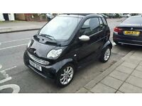 Smart for 2 Leather interior convertible